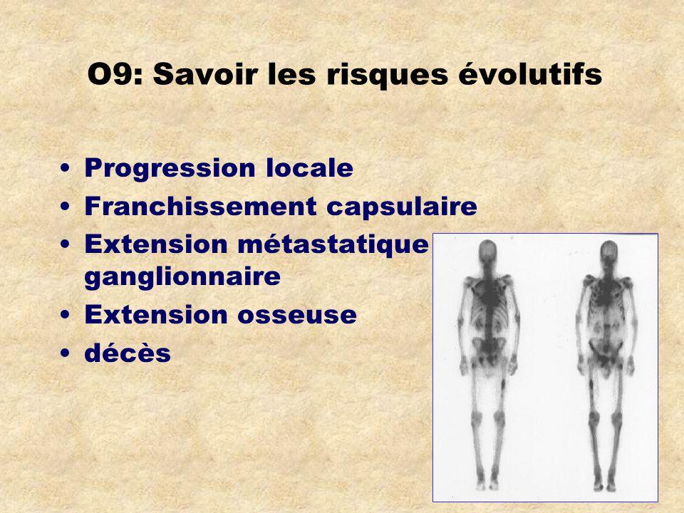 O9: Savoir les risques évolutifs