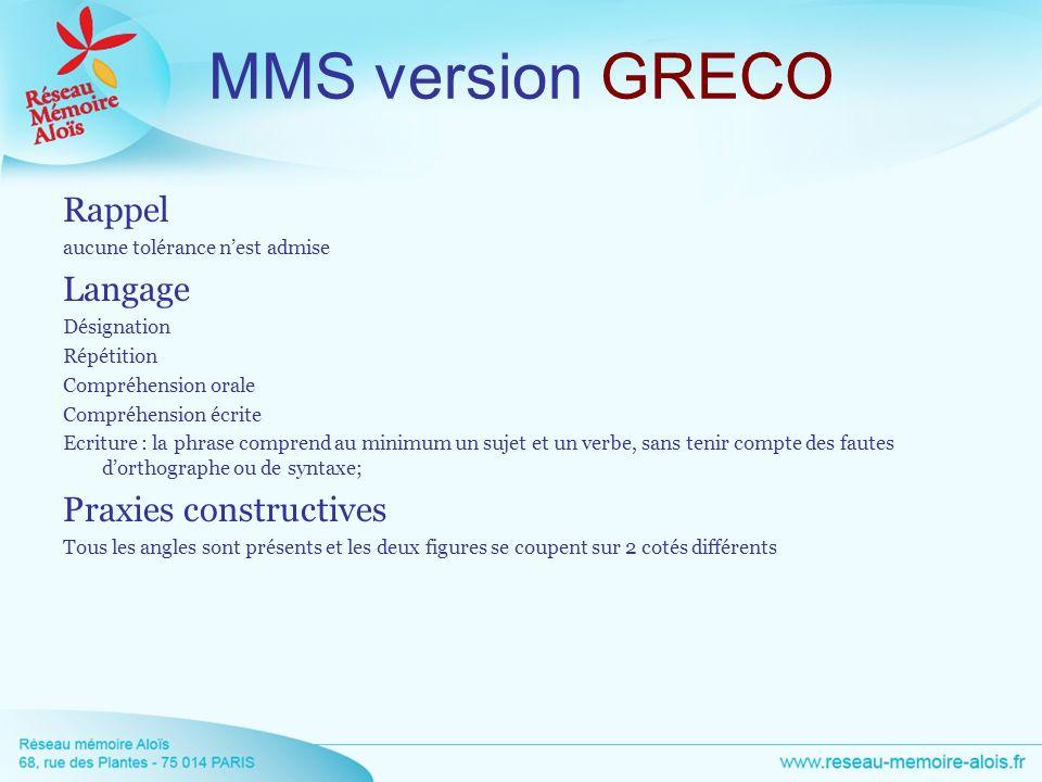 MMS version GRECO Rappel Langage Praxies constructives