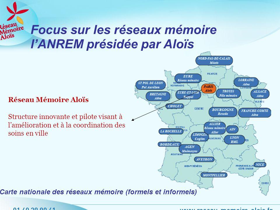 Focus sur les réseaux mémoire l'ANREM présidée par Aloïs
