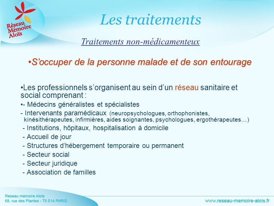 Les traitements Traitements non-médicamenteux