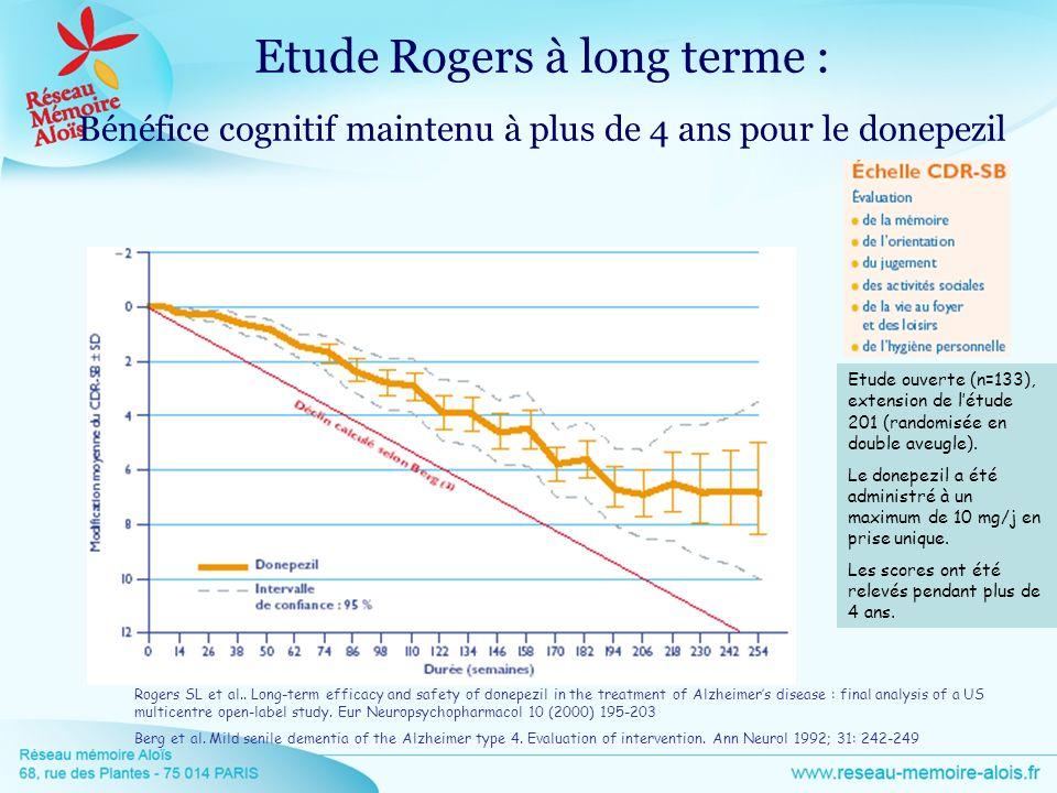 Etude Rogers à long terme :