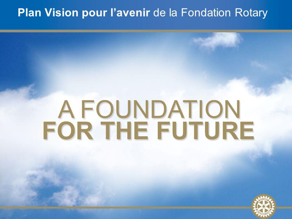 Plan Vision pour l'avenir de la Fondation Rotary