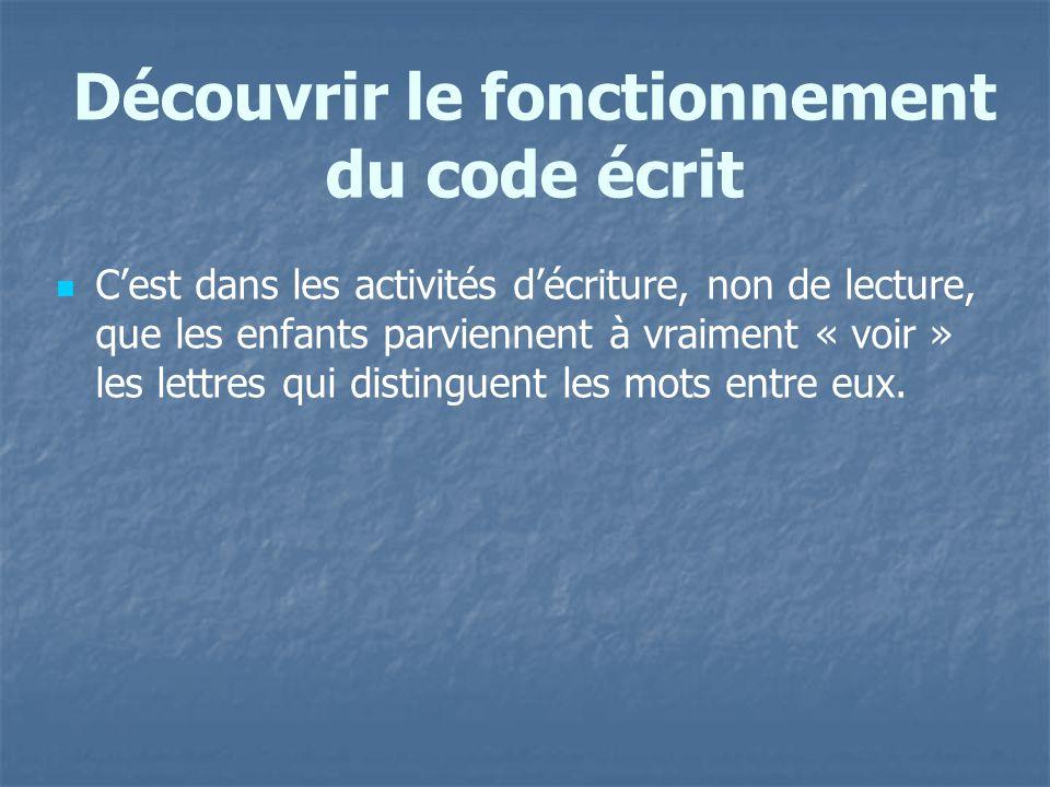 Découvrir le fonctionnement du code écrit