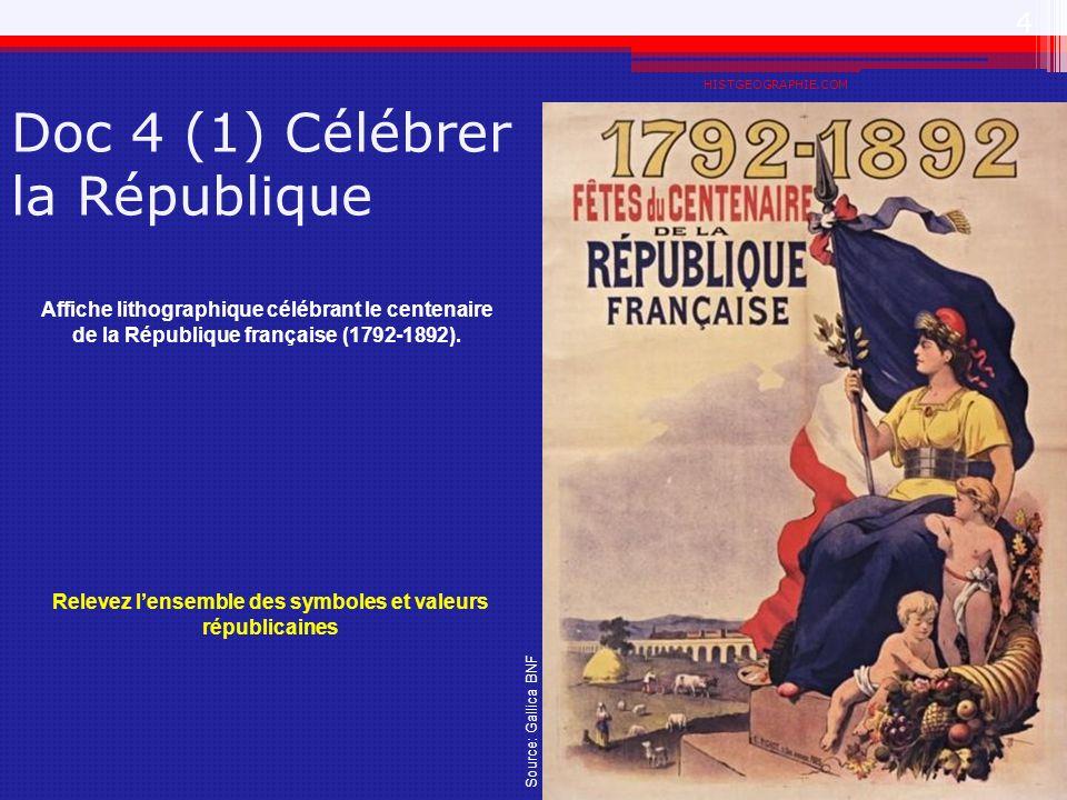 Doc 4 (1) Célébrer la République
