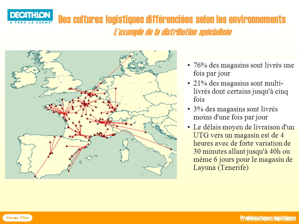 Des cultures logistiques différenciées selon les environnements L'exemple de la distribution spécialisée