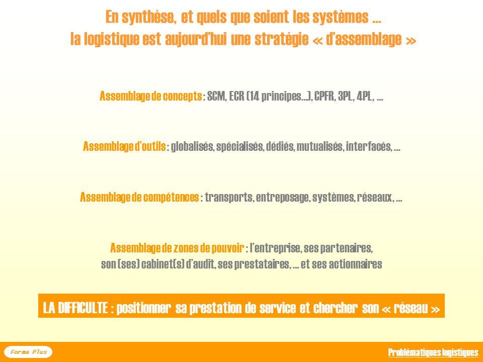 En synthèse, et quels que soient les systèmes …