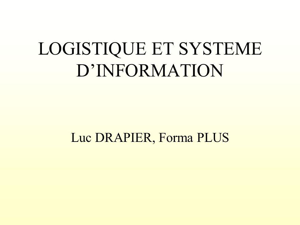 LOGISTIQUE ET SYSTEME D'INFORMATION