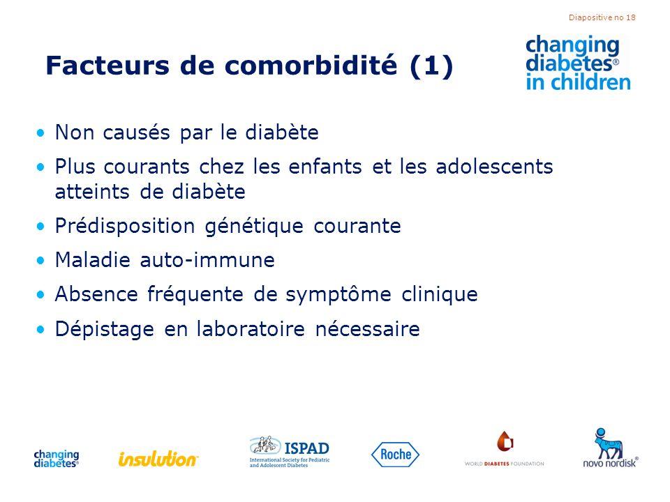 Facteurs de comorbidité (1)