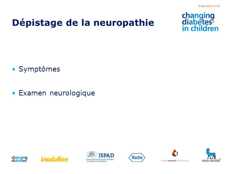 Dépistage de la neuropathie