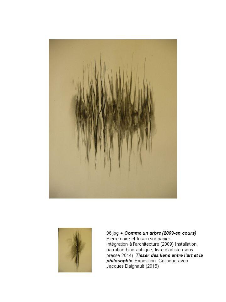 06.jpg ● Comme un arbre (2009-en cours) Pierre noire et fusain sur papier.