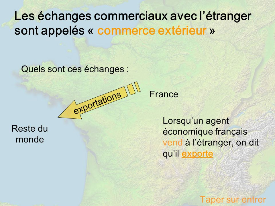 Le commerce exterieur de la france ppt video online - Chambre de commerce francaise a l etranger ...