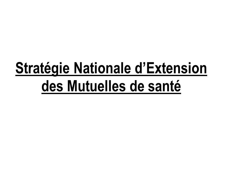 Stratégie Nationale d'Extension des Mutuelles de santé