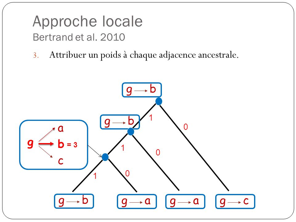 Approche locale Bertrand et al. 2010