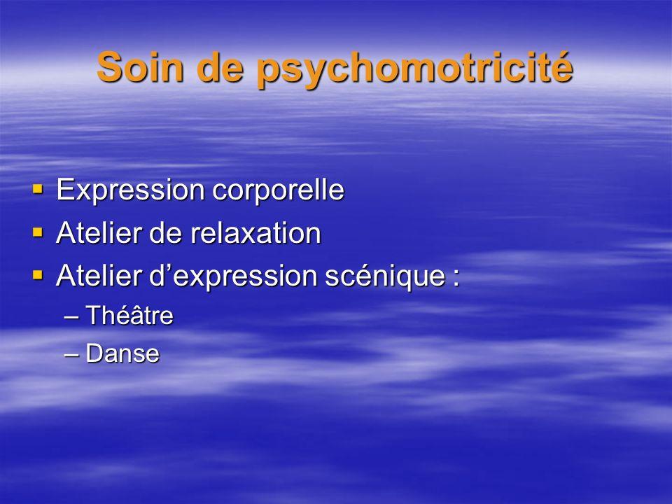Soin de psychomotricité
