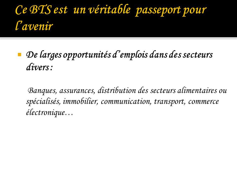 Ce BTS est un véritable passeport pour l'avenir