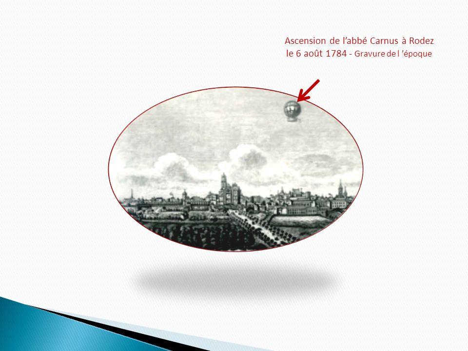 Ascension de l'abbé Carnus à Rodez