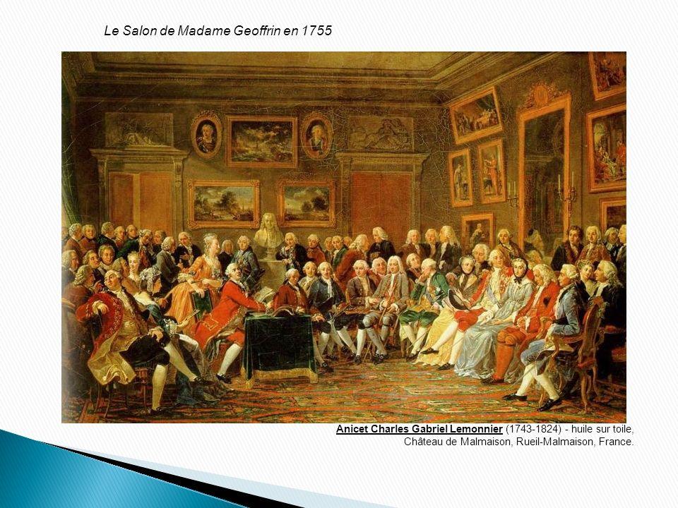 Le Salon de Madame Geoffrin en 1755