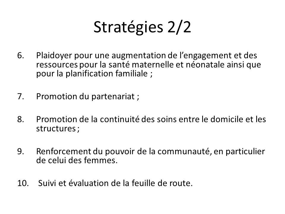 Stratégies 2/2