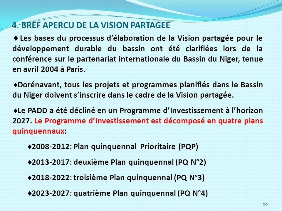 4. BREF APERCU DE LA VISION PARTAGEE