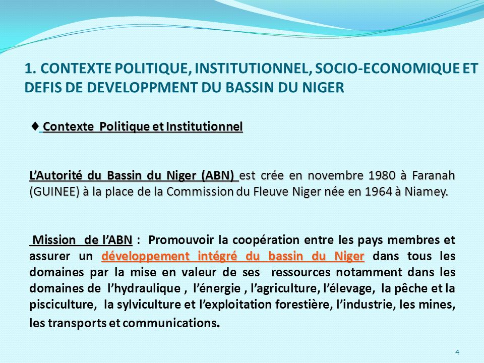 Contexte Politique et Institutionnel