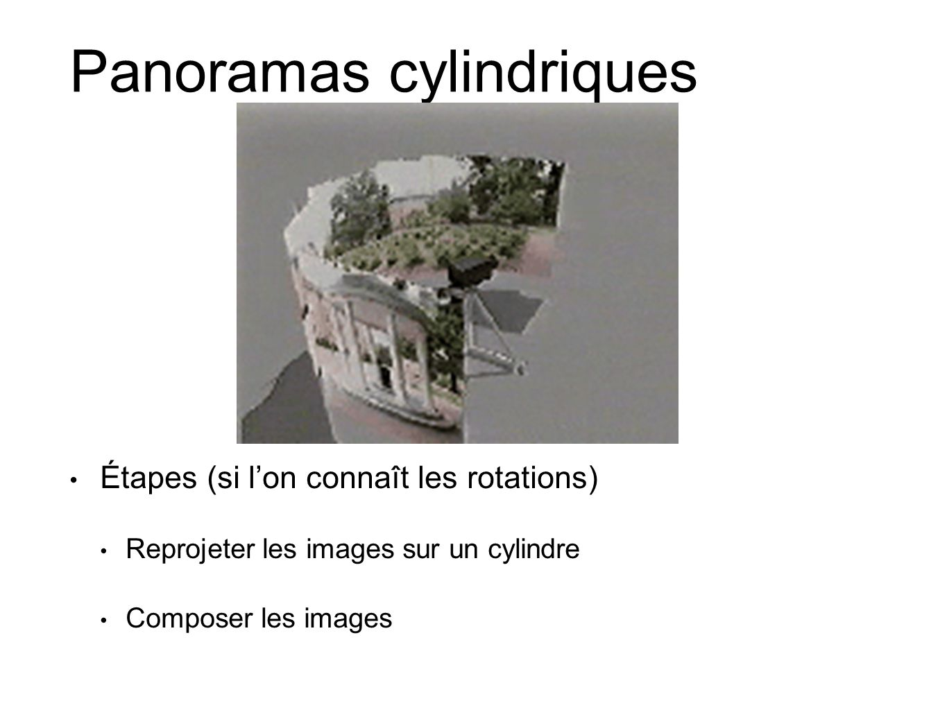 Panoramas cylindriques