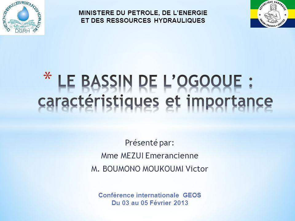 LE BASSIN DE L'OGOOUE : caractéristiques et importance