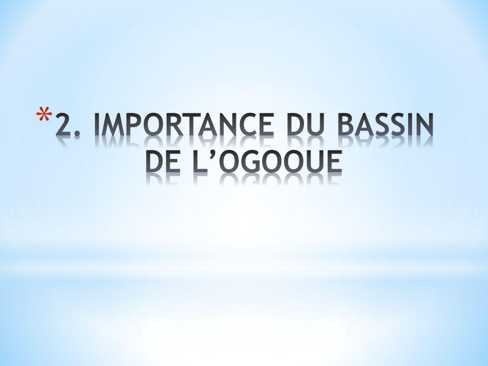 2. IMPORTANCE DU BASSIN DE L'OGOOUE