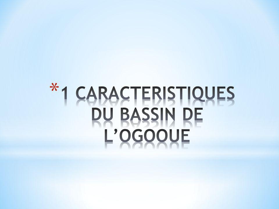 1 CARACTERISTIQUES DU BASSIN DE L'OGOOUE
