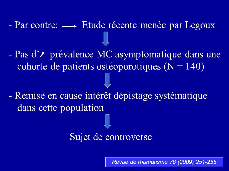 Revue de rhumatisme 76 (2009) 251-255