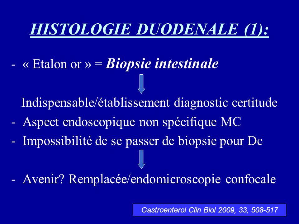HISTOLOGIE DUODENALE (1):