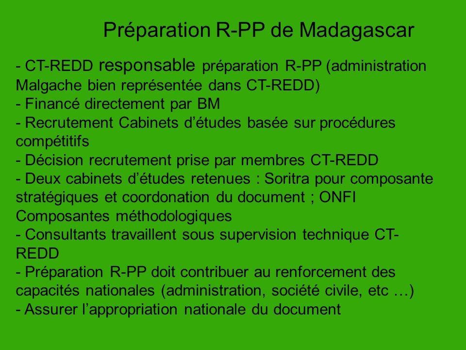 Préparation R-PP de Madagascar