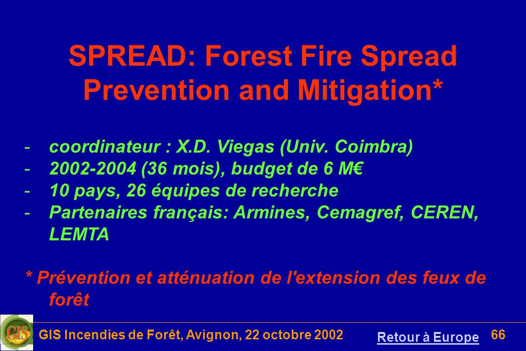 SPREAD: Forest Fire Spread Prevention and Mitigation*