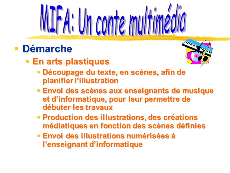MIFA: Un conte multimédia