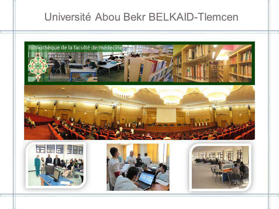 Université Abou Bekr BELKAID-Tlemcen