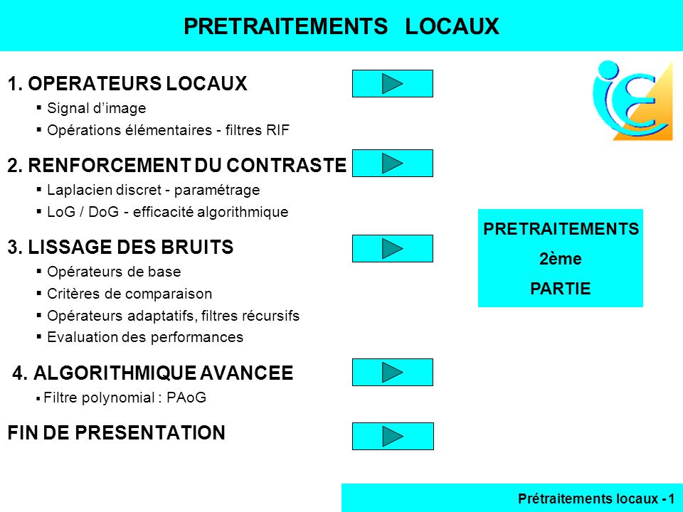 PRETRAITEMENTS LOCAUX