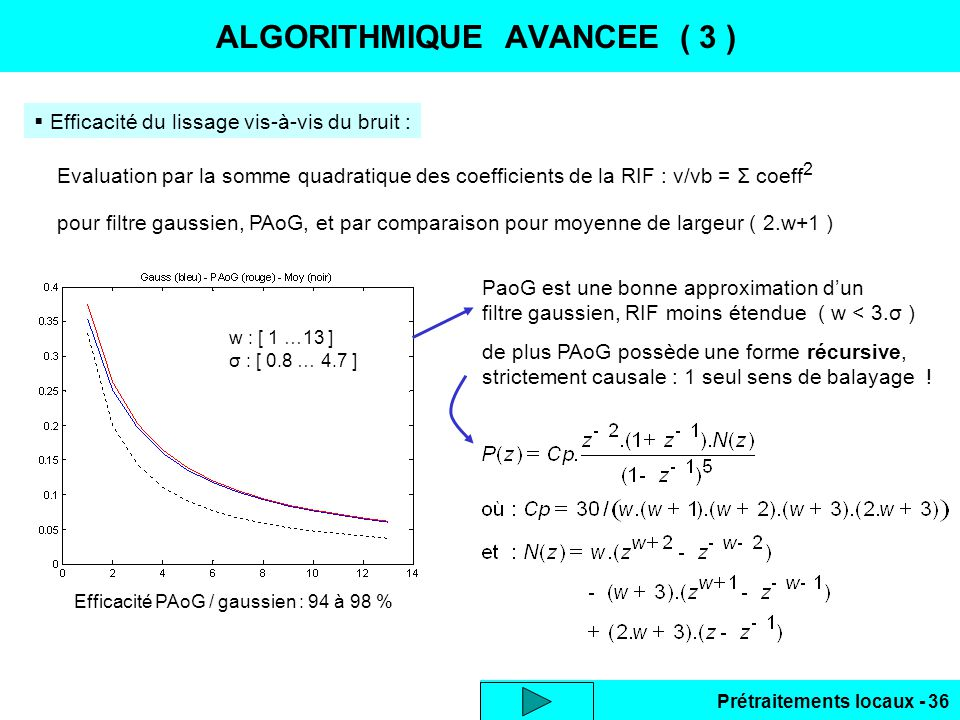 ALGORITHMIQUE AVANCEE ( 3 )