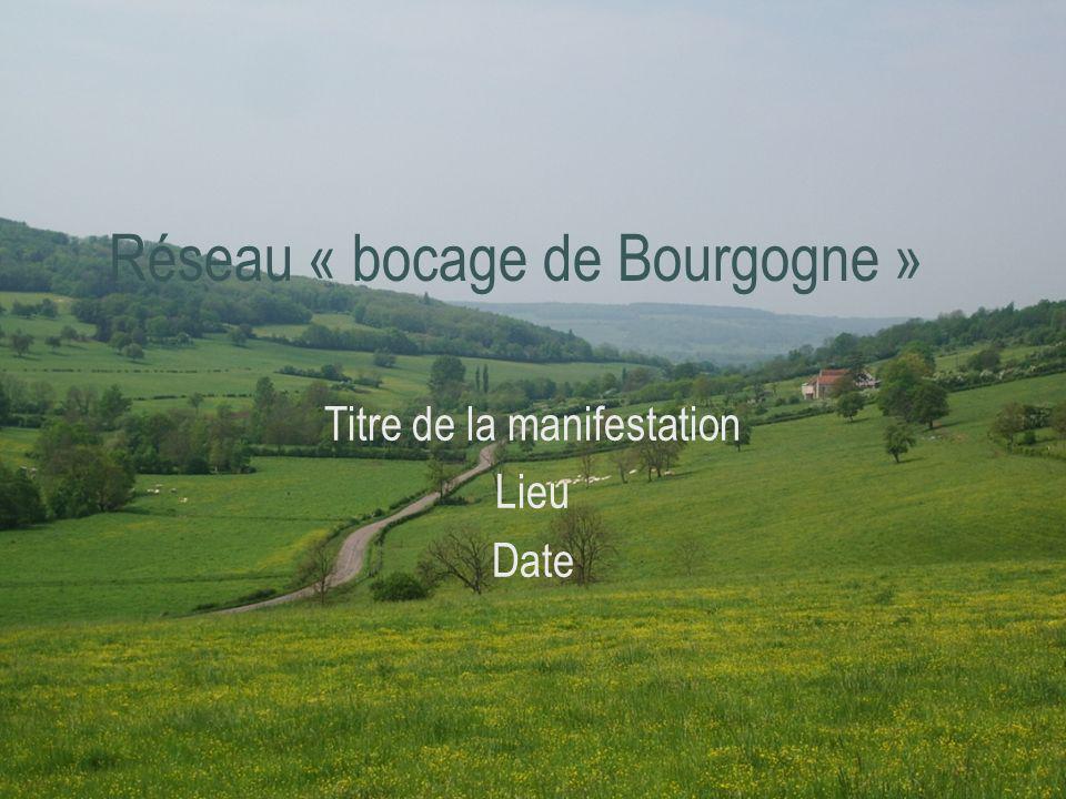 Réseau « bocage de Bourgogne »