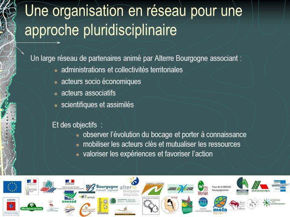 Une organisation en réseau pour une approche pluridisciplinaire