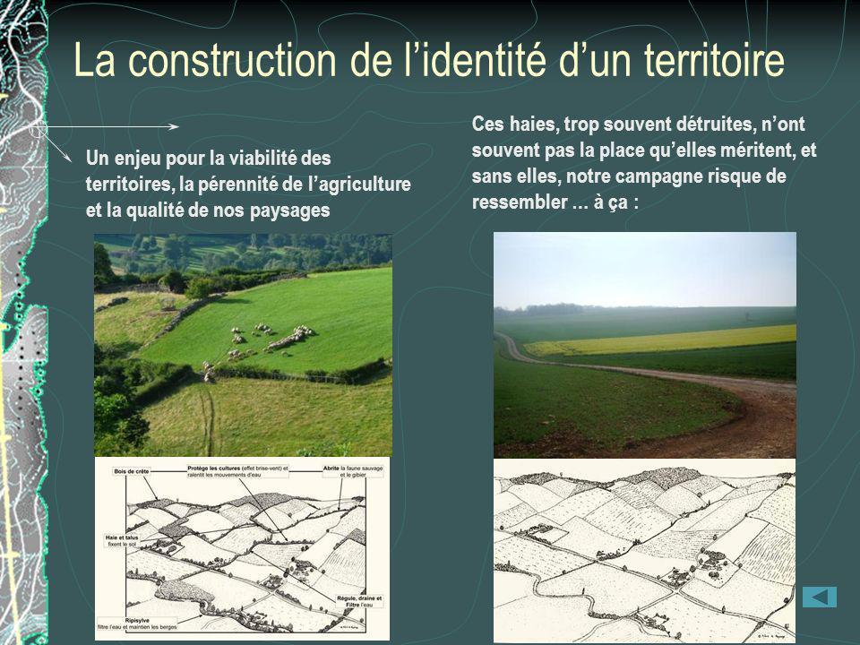 La construction de l'identité d'un territoire