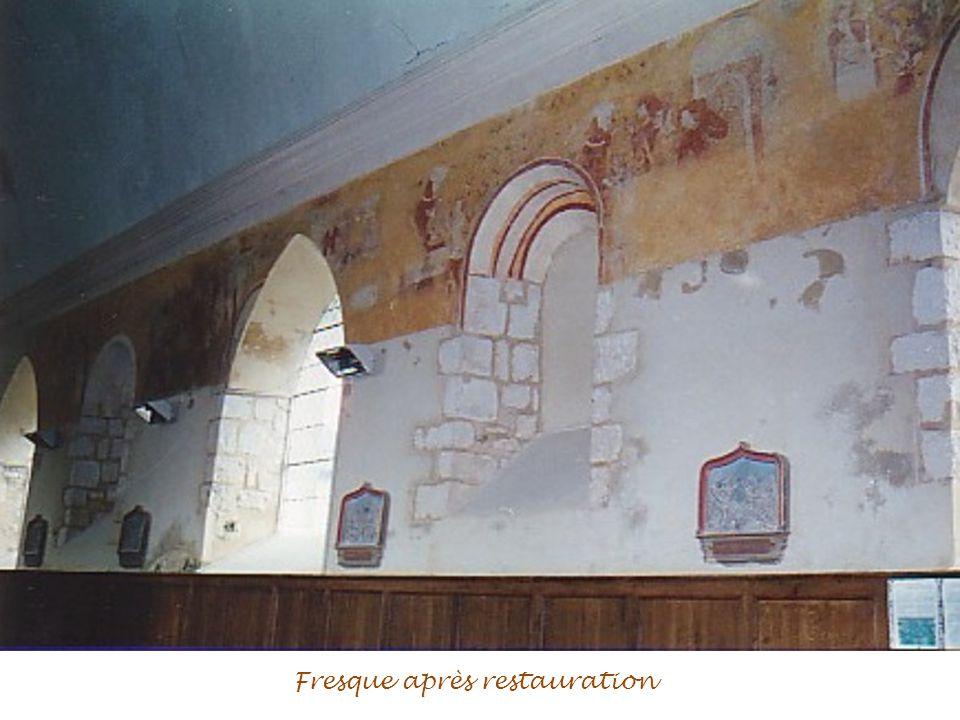 Fresque après restauration