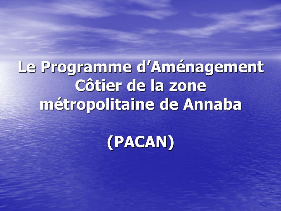 Le Programme d'Aménagement Côtier de la zone métropolitaine de Annaba (PACAN)