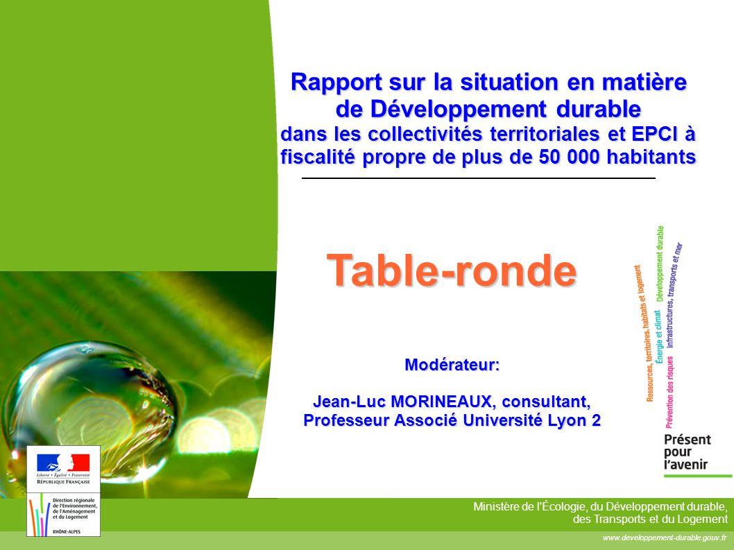 Jean-Luc MORINEAUX, consultant, Professeur Associé Université Lyon 2