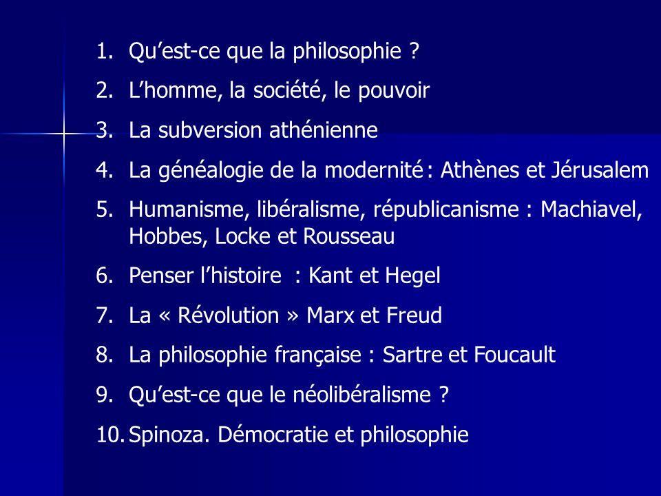 Qu'est-ce que la philosophie