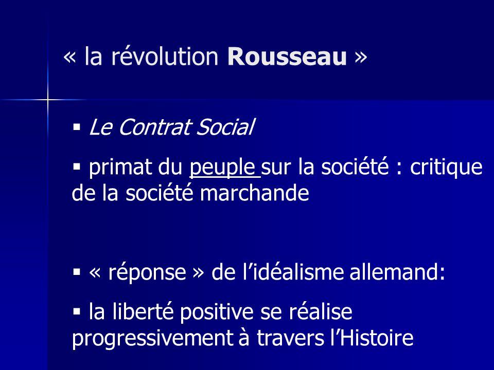 « la révolution Rousseau »