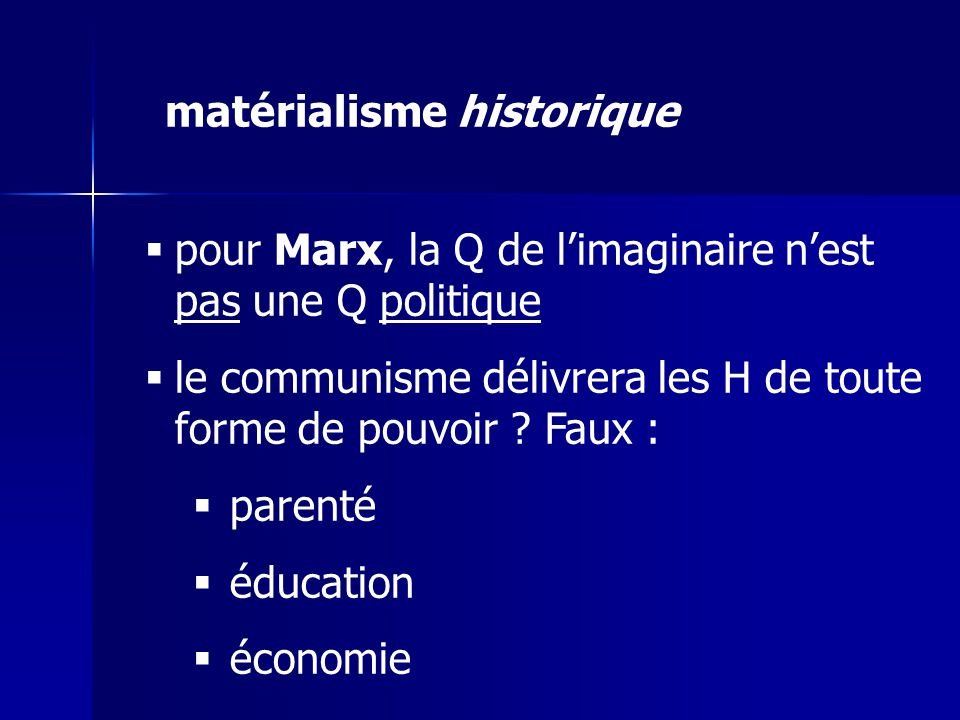 matérialisme historique