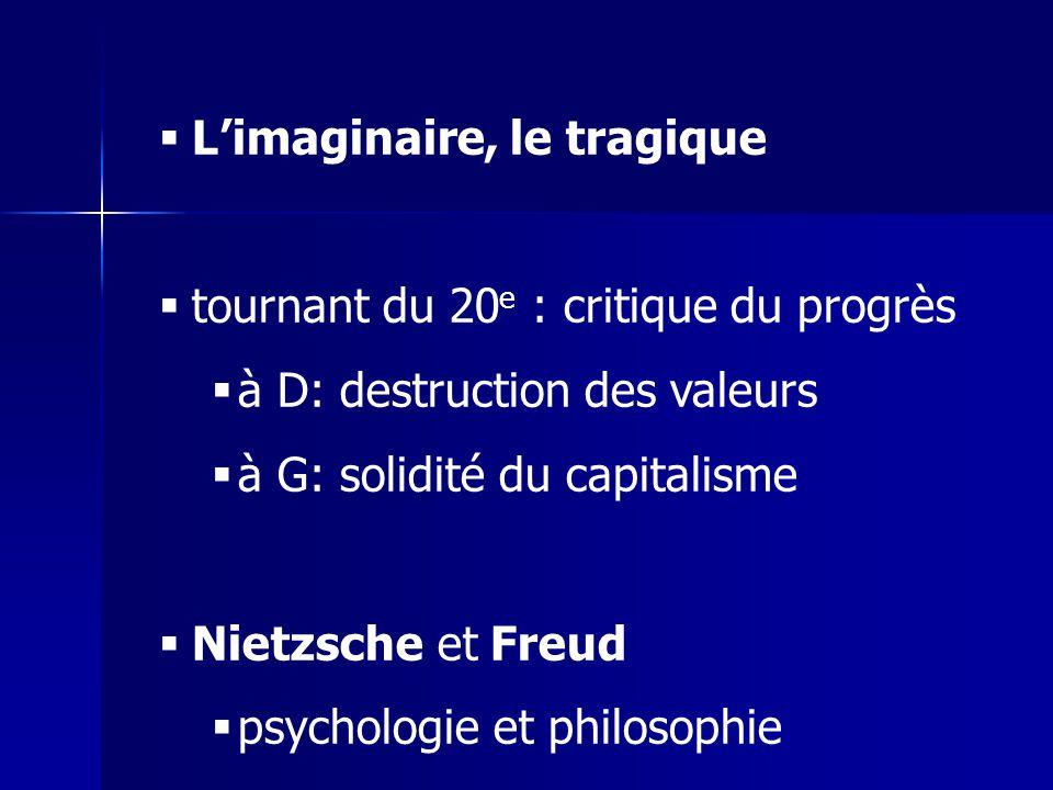 L'imaginaire, le tragique