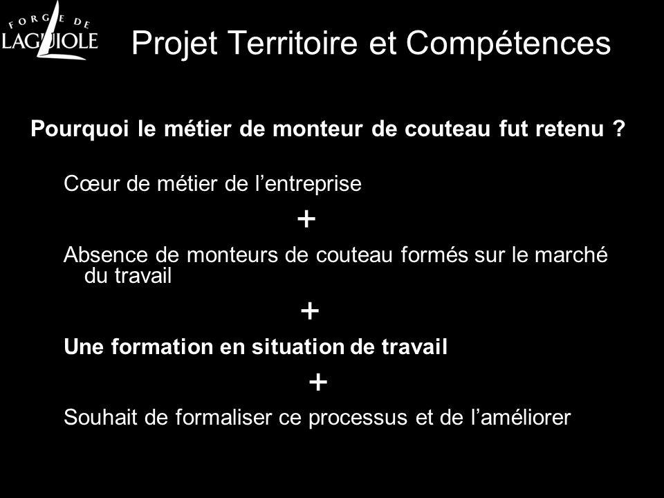 Projet Territoire et Compétences