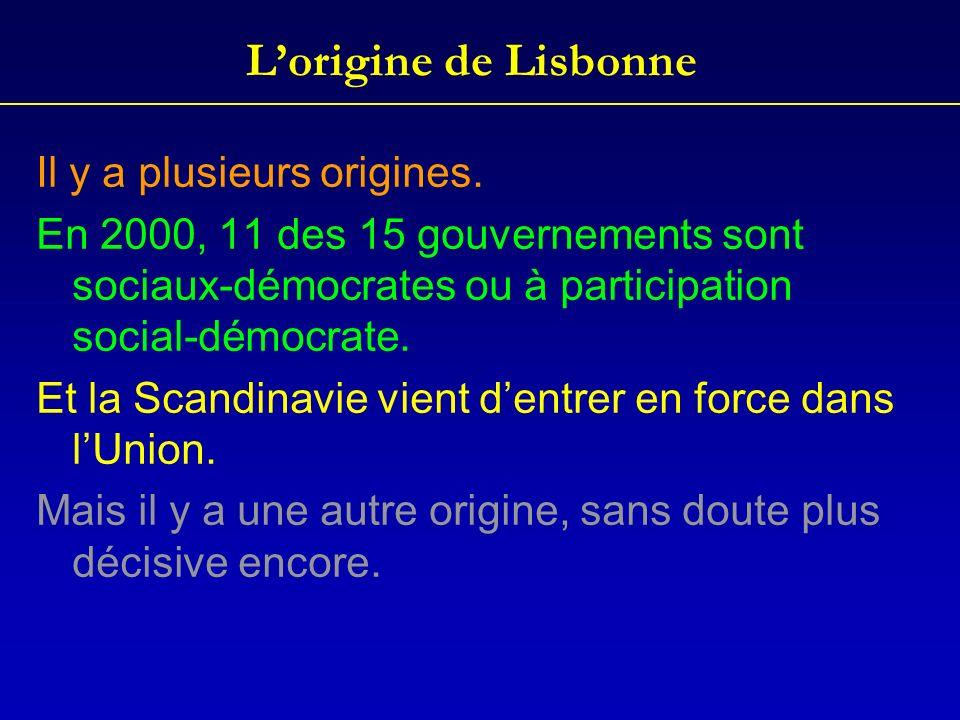 L'origine de Lisbonne Il y a plusieurs origines.