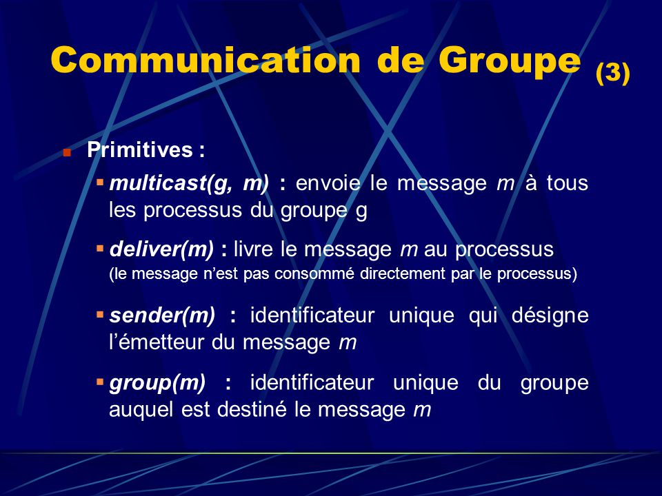 Communication de Groupe (3)