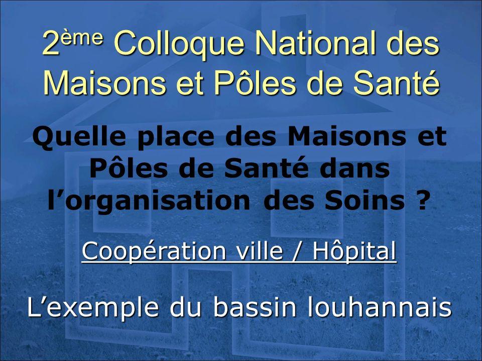 2ème Colloque National des Maisons et Pôles de Santé